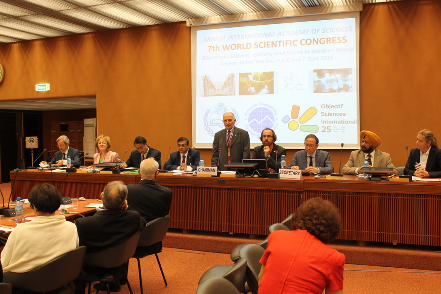 UNO Congress Geneva : Speech of the President of IHAC