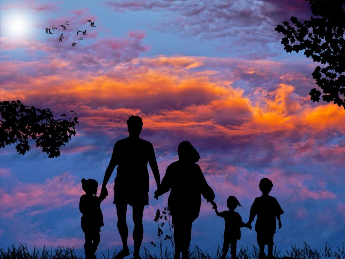 FAMILY IS SUPREME SOURCE OF HEALTH AND HAPPINESS.